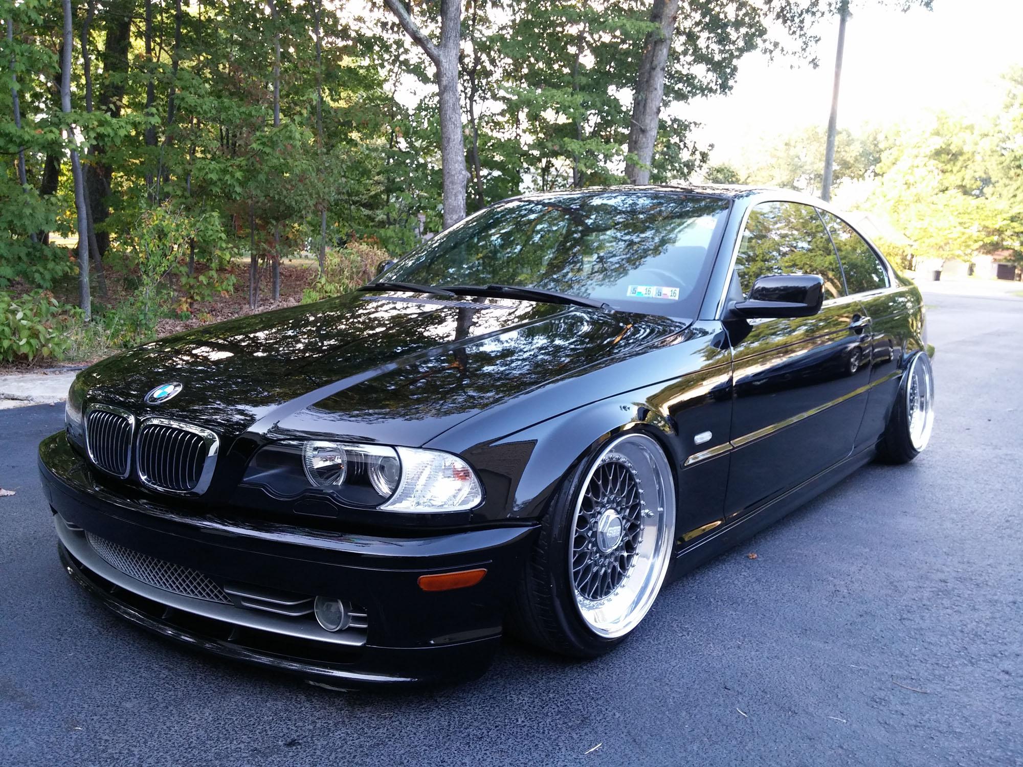 Black BMW E46