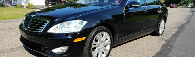 Black Mercedes Benz S550