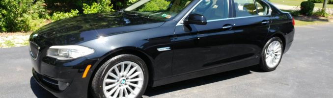 Black BMW 535I