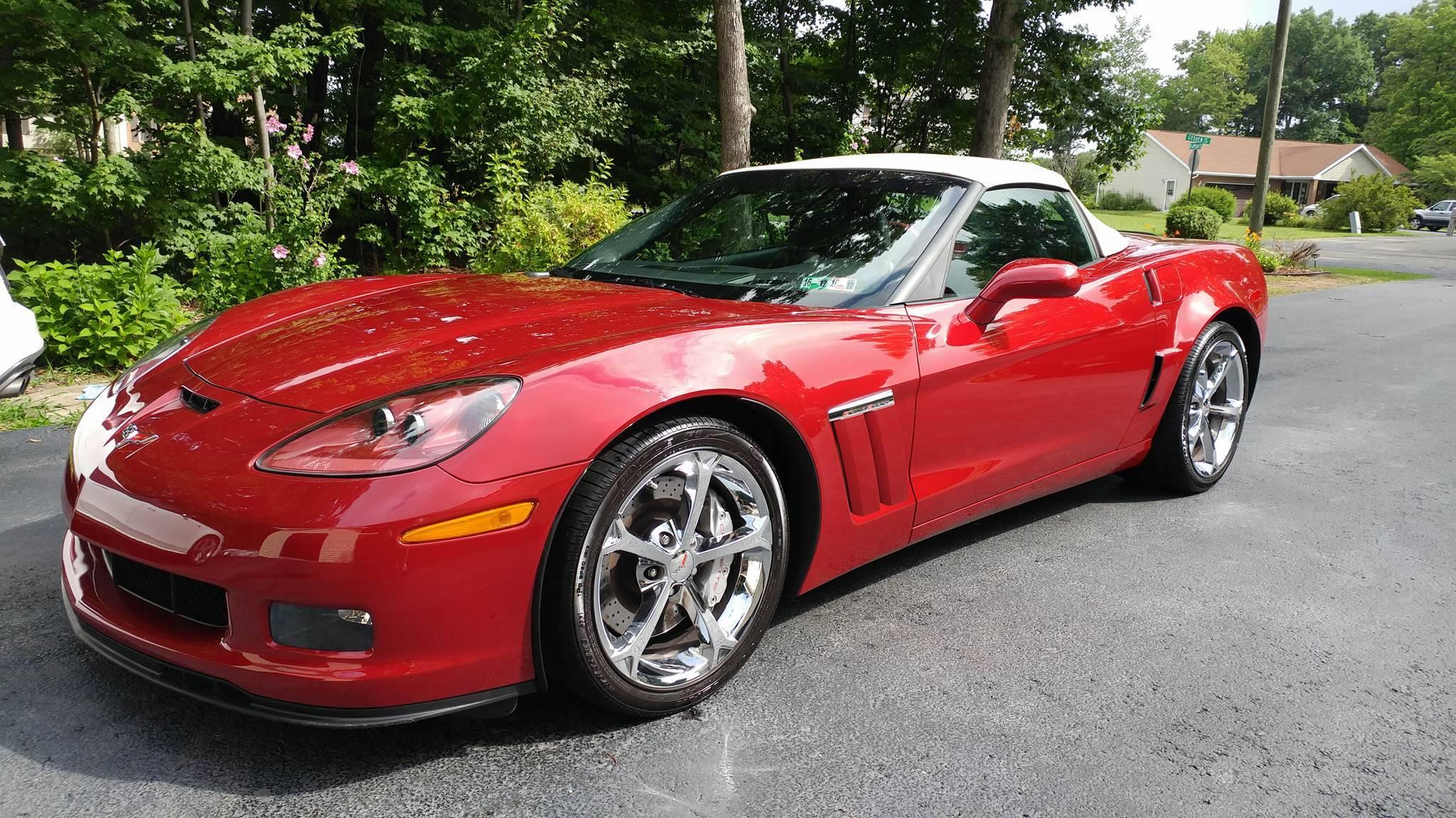 Red C6 Corvette