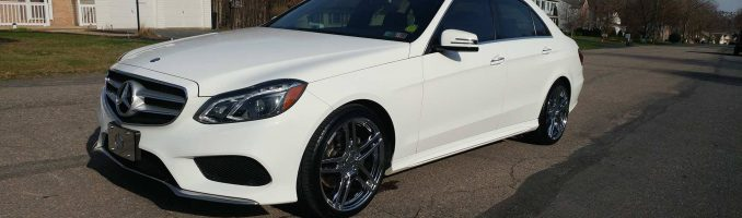Mercedes Benz E350 White