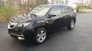 Black Acura MDX