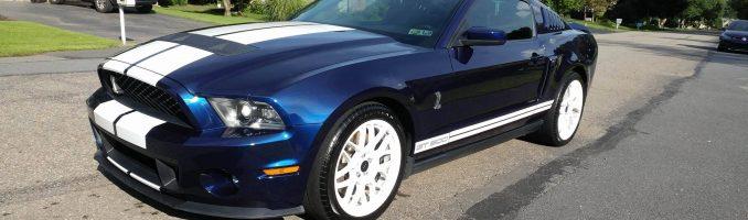 Blue GT500